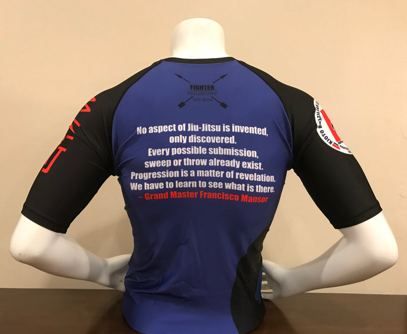 Kioto Grand Master Mansor Rash Guard - Preorder