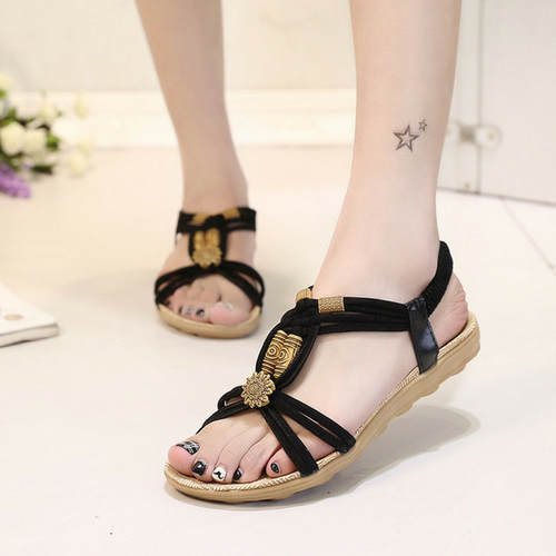 ANTÃO BLACK SANDALS