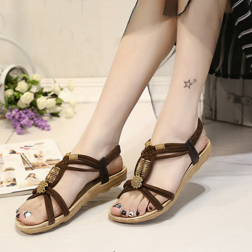 ANTÃO BROWN SANDALS