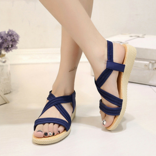ISABELLA BLUE SANDALS