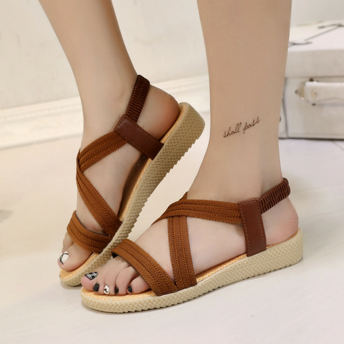 ISABELLA BROWN SANDALS