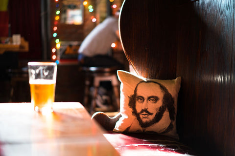 shakespeare and beer