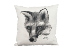 Fox on pillow
