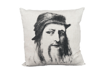 Leonardo Da Vinci on pillow