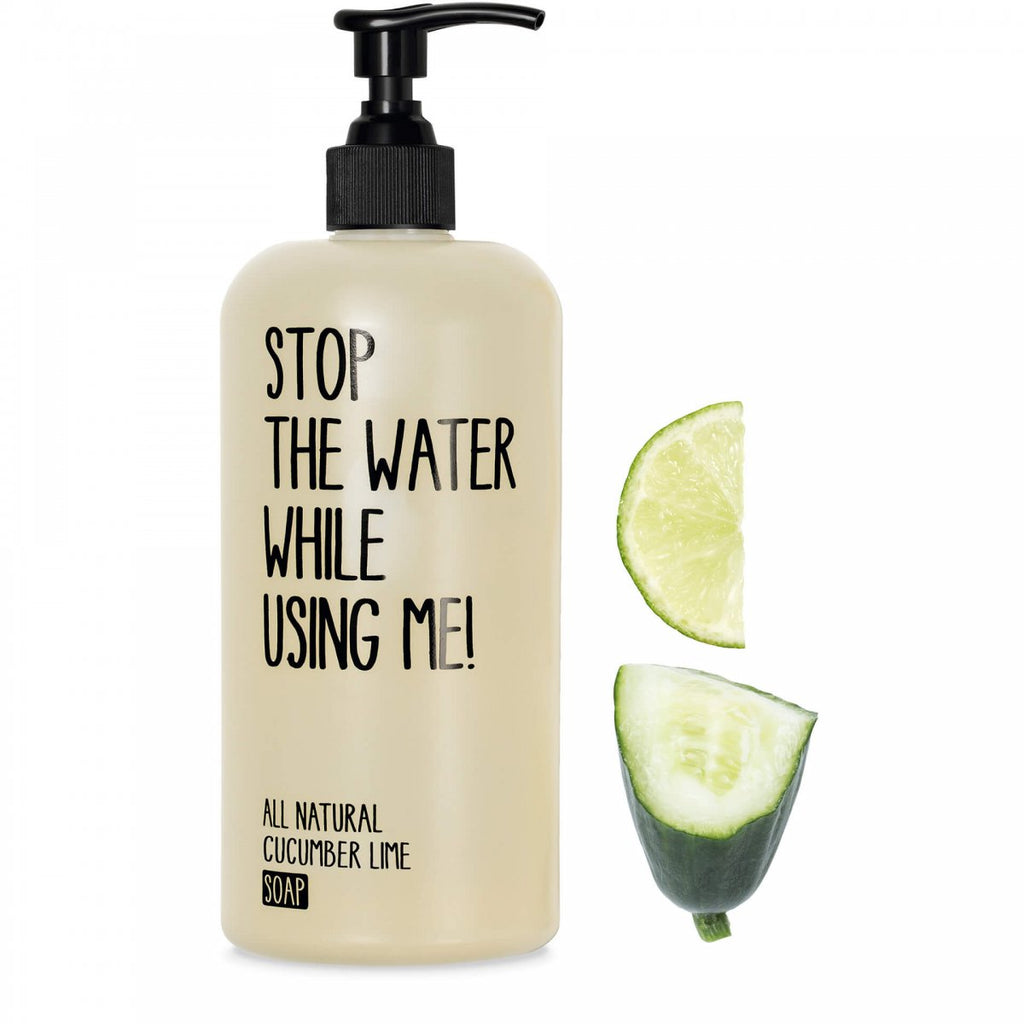Stop The Water While Using Me! Cucumber Lime Soap