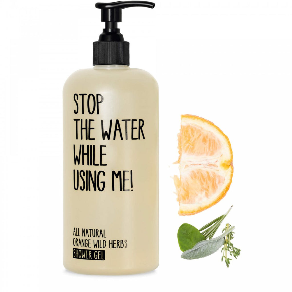 Stop The Water While Using Me! Orange Wild Herbs Shower Gel