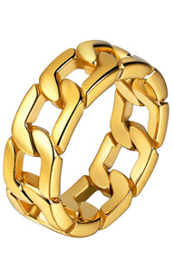 CUBAN CHAIN LINK RING