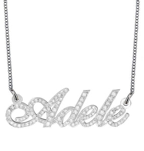ICY NAME NECKLACE