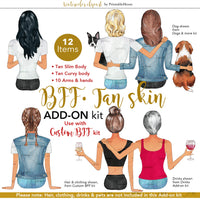 BFFs Tan Skin Tone Add-On kit