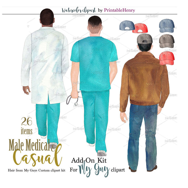 Male Medical & Casual Add-On kit