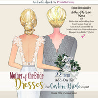 Mother of the Bride Dresses Add-On kit