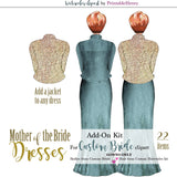 Mother of the Bride Dresses Add-On kit - PrintableHenry