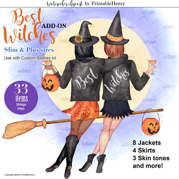 Best Witches Add-on Kit - PrintableHenry