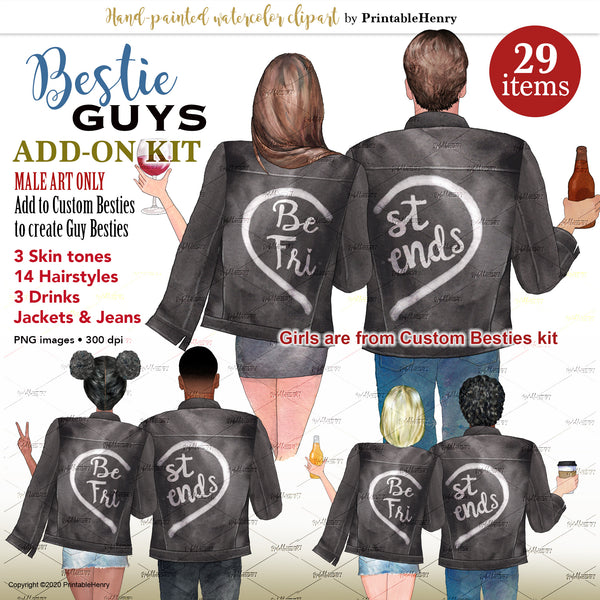 Bestie Guys Add-On kit