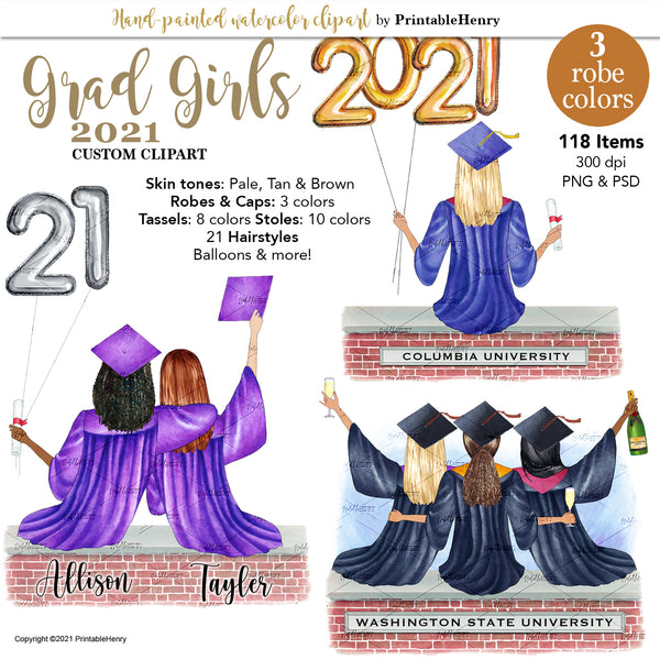 Grad Girls 2021 Custom kit