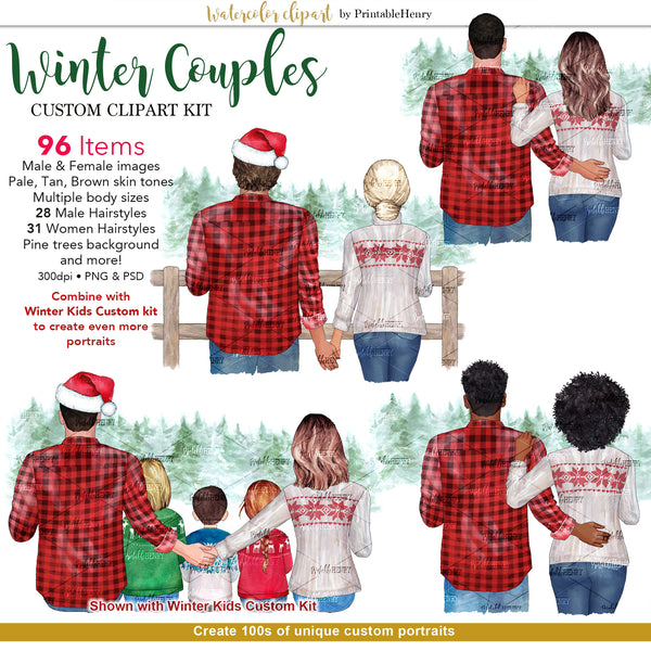 Winter Couples Custom kit