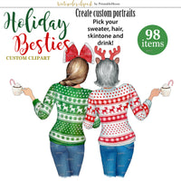 Holiday Besties Custom kit
