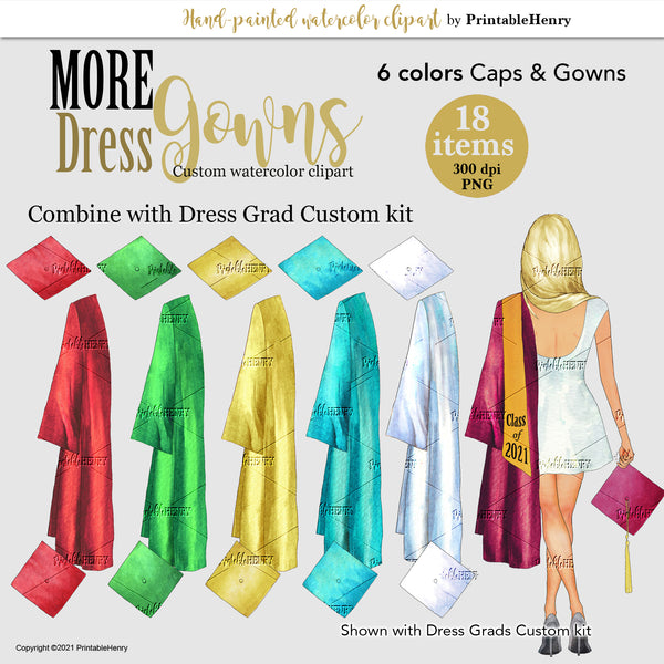 Dress Grads Gowns Add-On kit