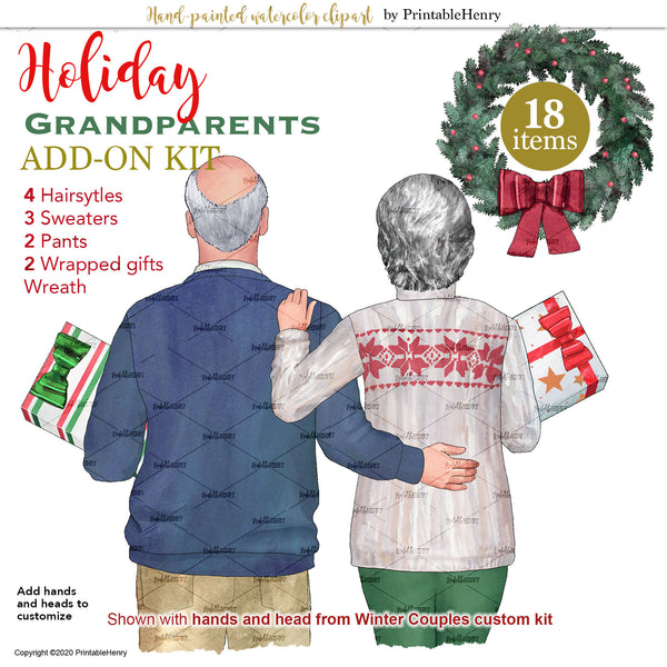 Holiday Grandparents Add-On kit
