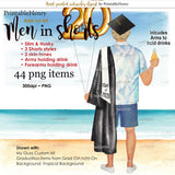 Men in Shorts Add-on kit - PrintableHenry