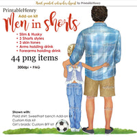 Men in Shorts Add-on kit