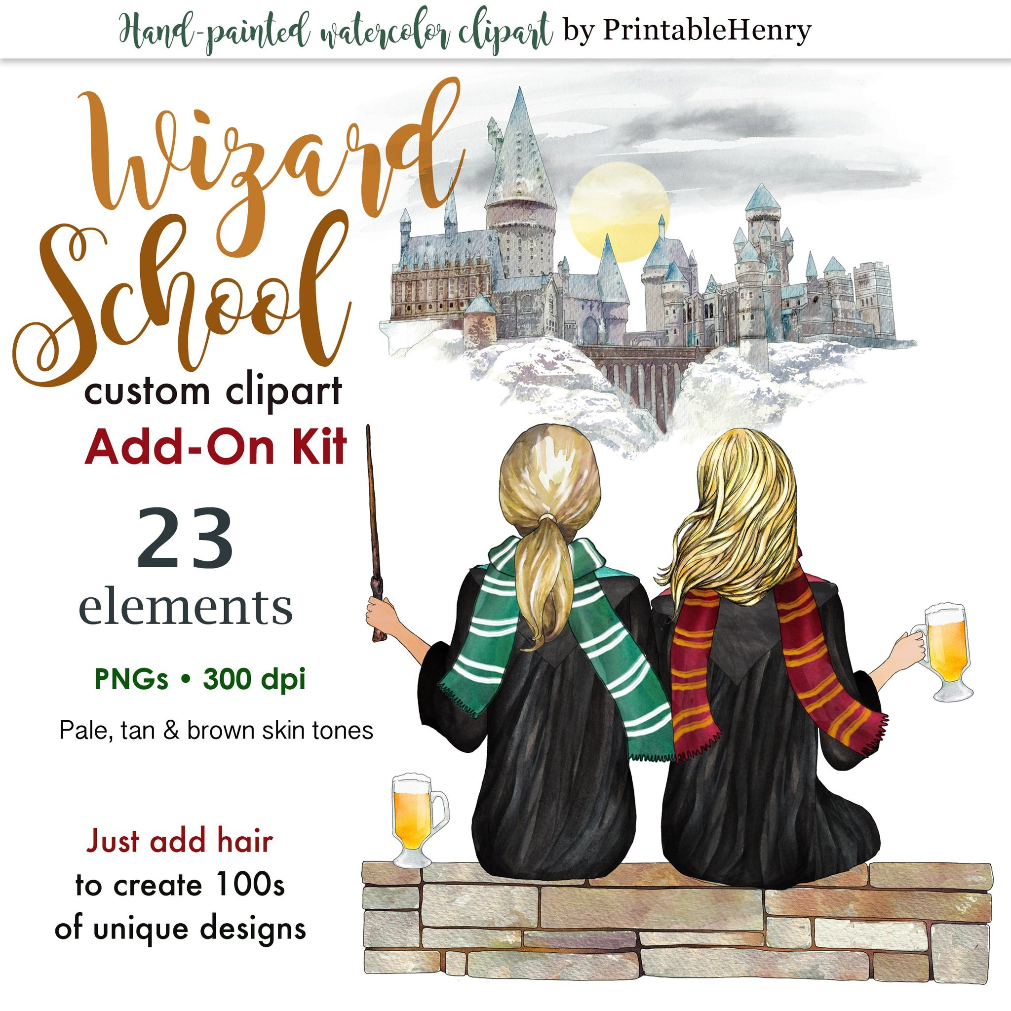Wizard School Add-On kit