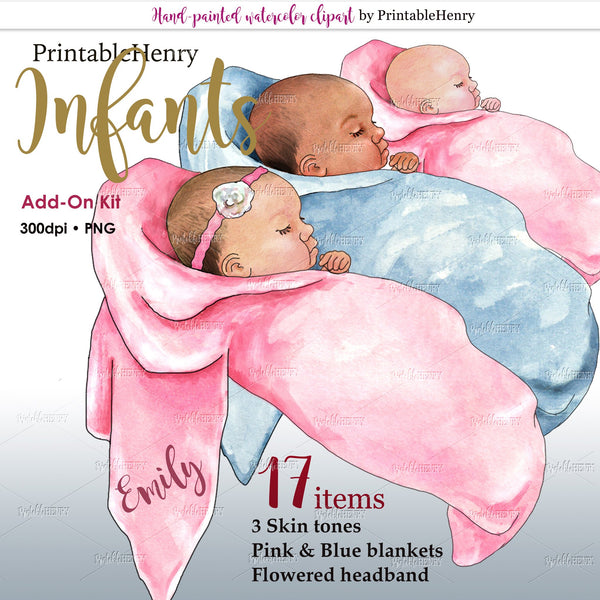 Infants Add-on kit - PrintableHenry