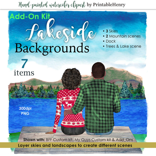 Lakeside Background Add-On