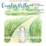 Country Paths Backgrounds