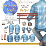 Sweetheart Bench Add-On kit