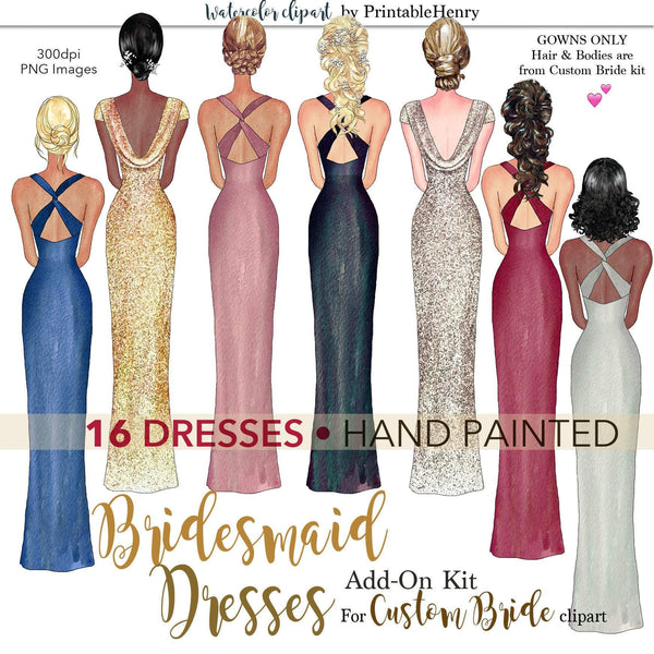 Bridesmaid Dresses Add-On kit