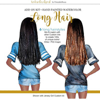 Hairstyles Long Add-On Kit