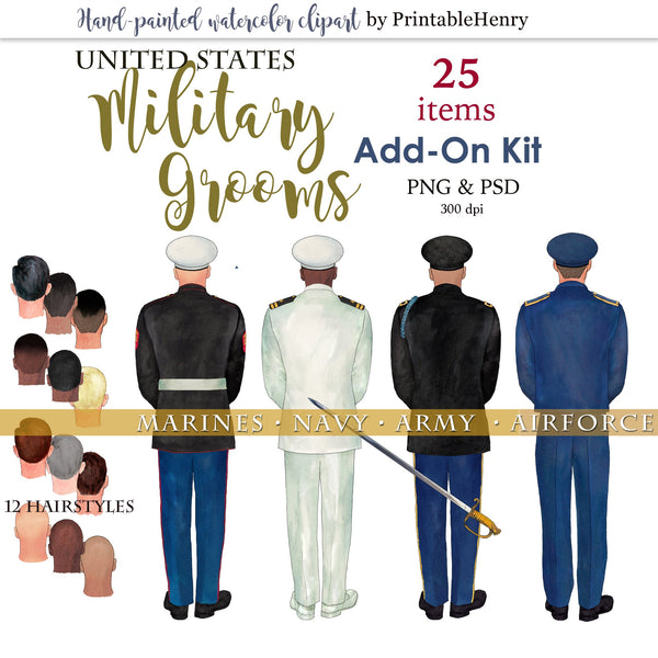 U.S. Military Groom - PrintableHenry