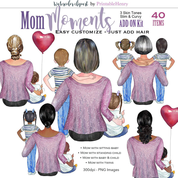 Mom Moments Add-On kit - PrintableHenry