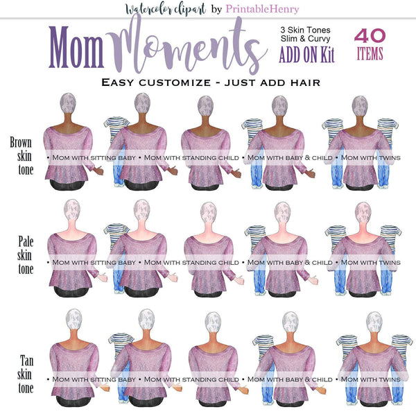 Mom Moments Add-On kit