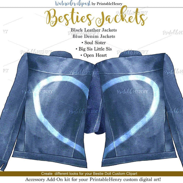 Besties Jackets Add-On kit