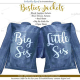 Besties Jackets Add-On kit - PrintableHenry