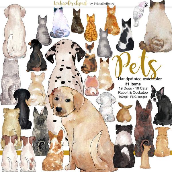 Pet Lovers Custom clipart - PrintableHenry