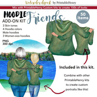 Hoodie Friends Add-on kit