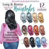 Hairsyles Long & Breezy Add-on kit
