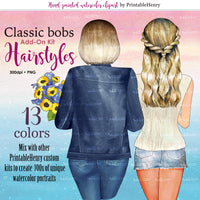 Hairstyles Classic Bob Add-on kit