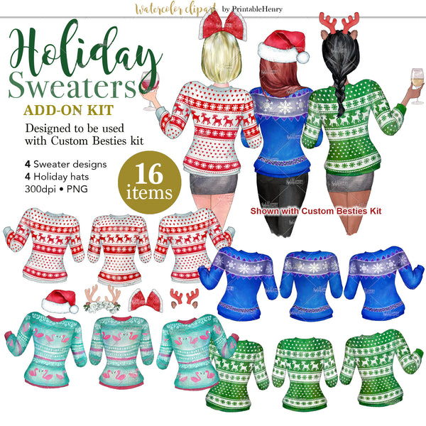 Holiday Sweaters Add-On kit