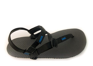 Sandals with Thoknia straps attached