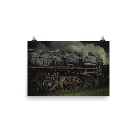 Dark Steam Locomotive