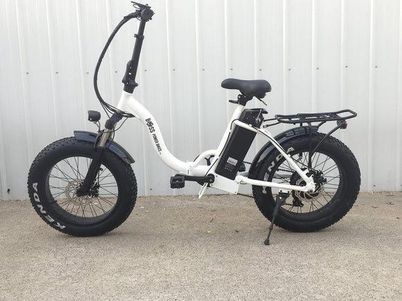 2018 BIG CAT® FAT CAT XL 500 ELECTRIC FAT BIKE | BOSS POWER BIKES