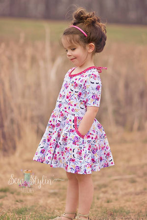 Twirly Pocket Dress