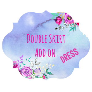 Add On Double Skirt Dress