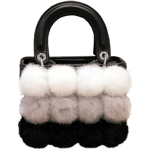 Rabbit Fur - Winter Bag - It's A Bags World - Fun Quirky Eccentric Bag
