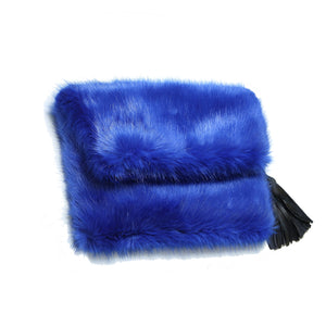 Faux Fur - Clutch Bag