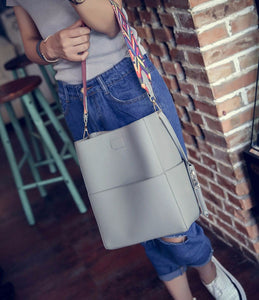 Faux Leather - Bucket Bag - It's A Bags World - Fun Quirky Eccentric Bag